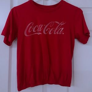 Coca-Cola Scrunched Top